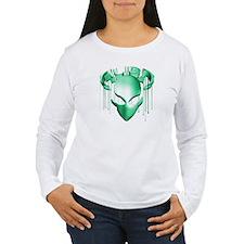 Alien with Logo Molten Teal T-Shirt