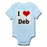 I Love Deb Infant Bodysuit