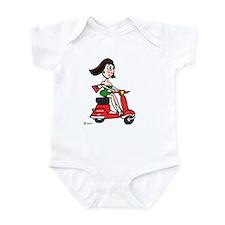 Scooter Girl Infant Bodysuit