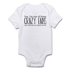 One of Those Crazy Fans Infant Bodysuit