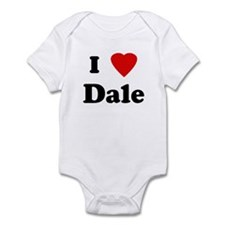 I Love Dale Infant Bodysuit