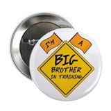 "Big Brother in Training 2.25"" Button (10 pack)"