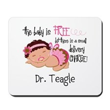 Personalized Funny Gynecologists Mousepad