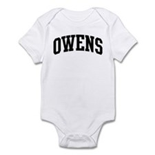 OWENS (curve-black) Infant Bodysuit
