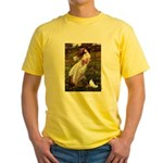 Windflowers & Papillon Yellow T-Shirt