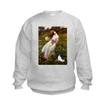 Windflowers & Papillon Kids Sweatshirt