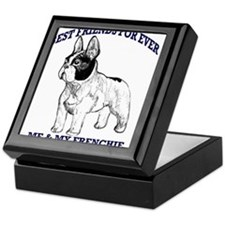 Unique French bulldog terrier Keepsake Box