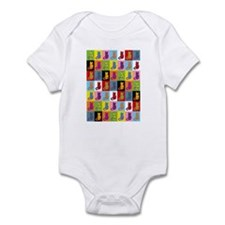 Pop Art Cat Infant Bodysuit