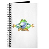 Meditating Frog Journal
