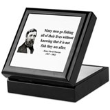 Henry David Thoreau 22 Keepsake Box