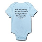 Henry David Thoreau 22 Infant Bodysuit