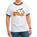 Boo Bats Ringer T