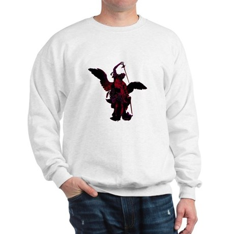 Powerful Angel - Red Sweatshirt