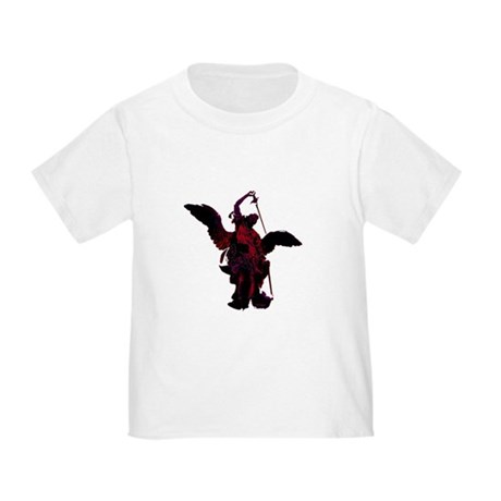 Powerful Angel - Red Toddler T-Shirt