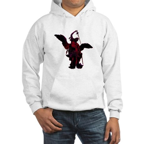 Powerful Angel - Red Hooded Sweatshirt
