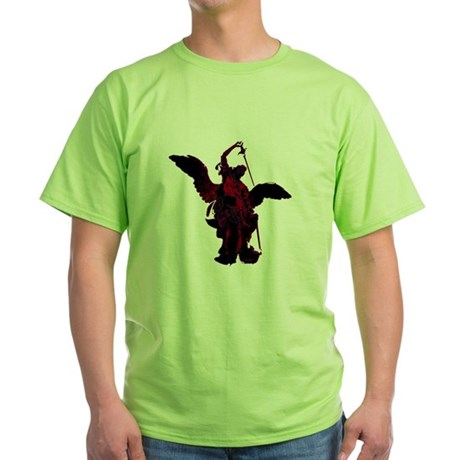 Powerful Angel - Red Green T-Shirt