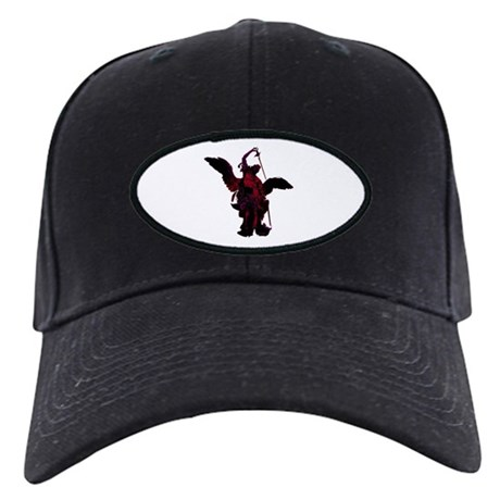Powerful Angel - Red Black Cap