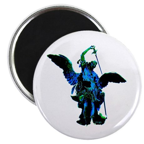 "Powerful Angel - Blue 2.25"" Magnet (100 pack)"