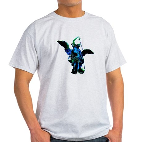 Powerful Angel - Blue Light T-Shirt