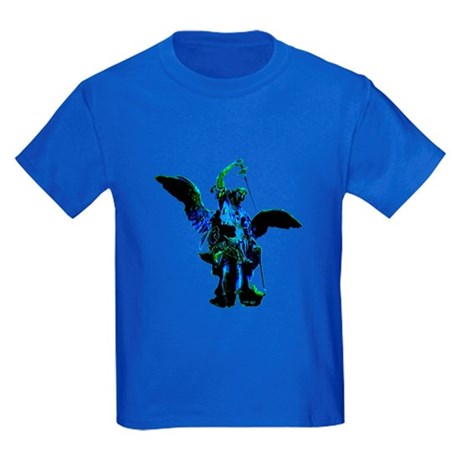 Powerful Angel - Blue Kids Dark T-Shirt
