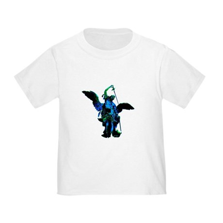 Powerful Angel - Blue Toddler T-Shirt