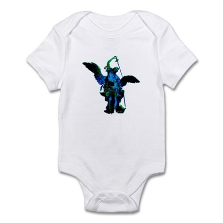 Powerful Angel - Blue Infant Bodysuit