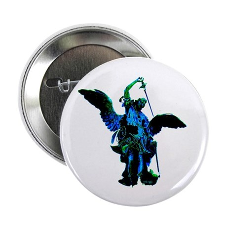 "Powerful Angel - Blue 2.25"" Button (100 pack)"