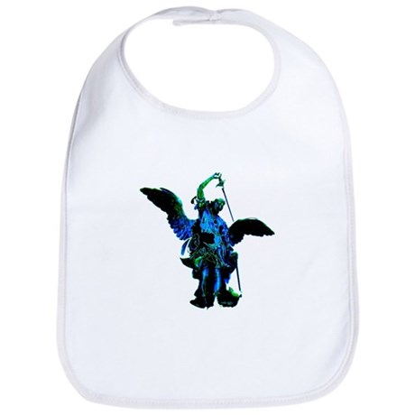 Powerful Angel - Blue Bib