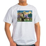 Saint Francis / Beagle Light T-Shirt