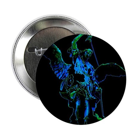 "Powerful Angel - Blue 2.25"" Button (10 pack)"