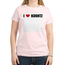 I Love Koontz T-Shirt
