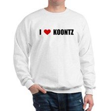 I Love Koontz Sweatshirt