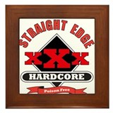 XXX Poison Free Framed Tile