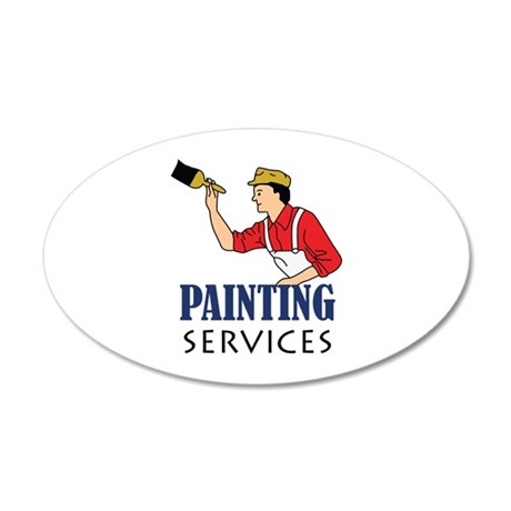 PAINTING SERVICES Wall Decal