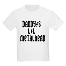 Daddy's Lil Metal Head Thunde T-Shirt
