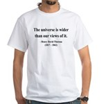 Henry David Thoreau 31 White T-Shirt
