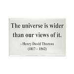 Henry David Thoreau 31 Rectangle Magnet (100 pack)