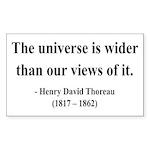 Henry David Thoreau 31 Rectangle Sticker