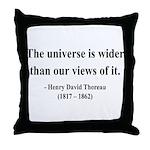 Henry David Thoreau 31 Throw Pillow
