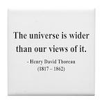 Henry David Thoreau 31 Tile Coaster