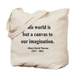 Henry David Thoreau 3 Tote Bag