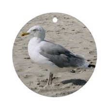 Seagull Ornament (Round)