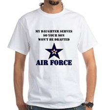 My Daugher Serves - Air Force Shirt