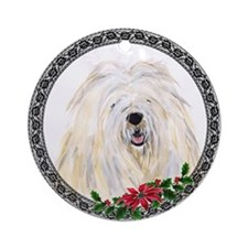 Komondor Ornament (Round)