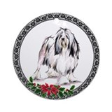Lowchen (Little Lion Dog) Ornament (Round)