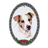 Parson Russell Terrier Oval Ornament