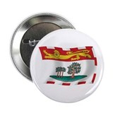 "Prince Edward Island Flag 2.25"" Button (100 pack)"