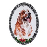Welsh Springer Spaniel Oval Ornament