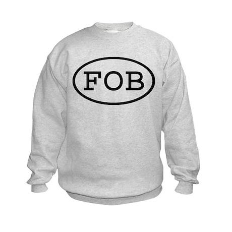 FOB Oval Kids Sweatshirt