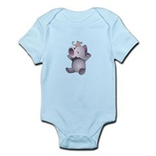 Baby Elephant And Mouse Body Suit